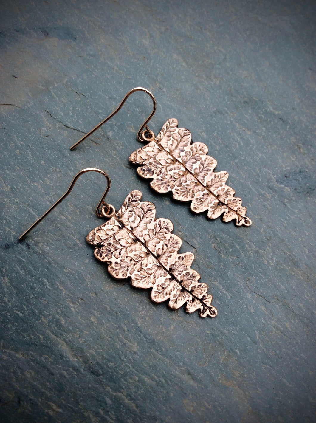 Ruffle Fern Earrings