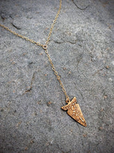 Arrowhead Lariat Necklace