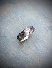 Feather Band Ring