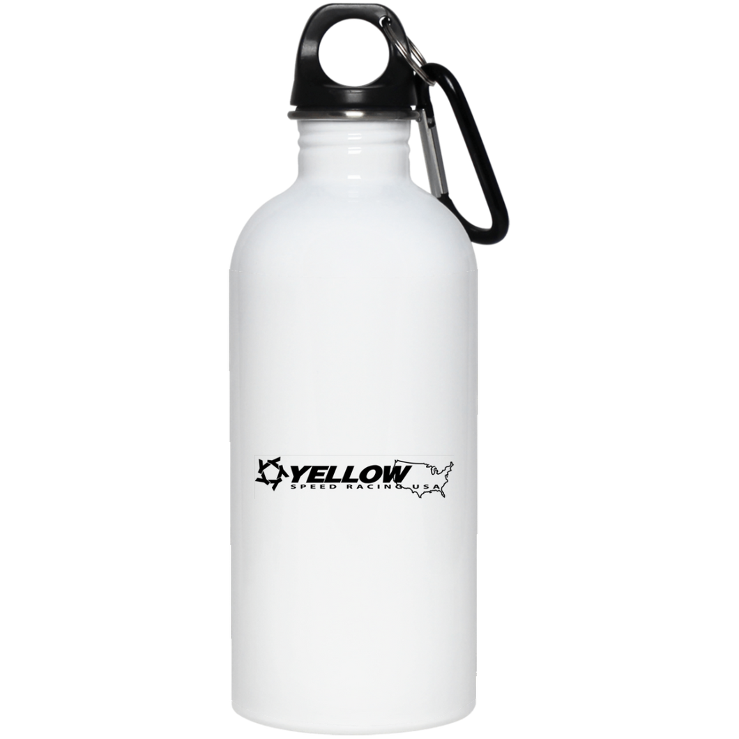 Yellow Speed Racing USA 20 oz. Stainless Steel Water Bottle for $25.99 at Yellow Speed Racing, USA