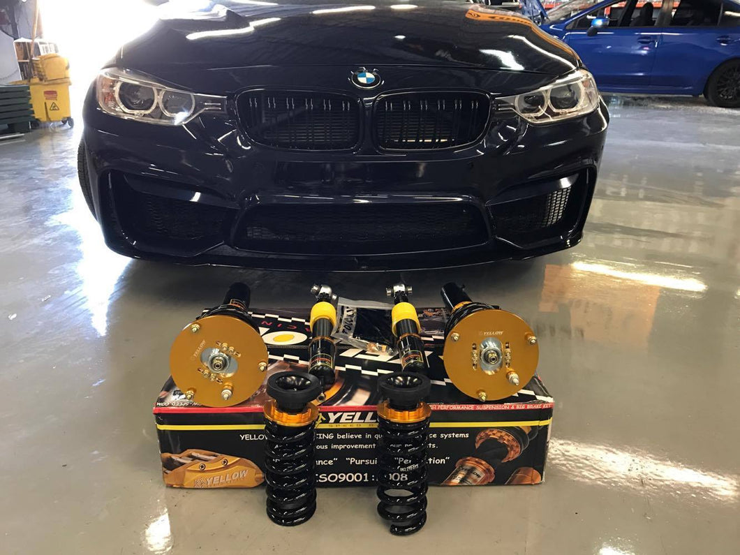Buy Dynamic Pro Sport Coilovers 2012 2018 Bmw 3 Series F30 At Yellow Speed Racing Usa For Only 979 00