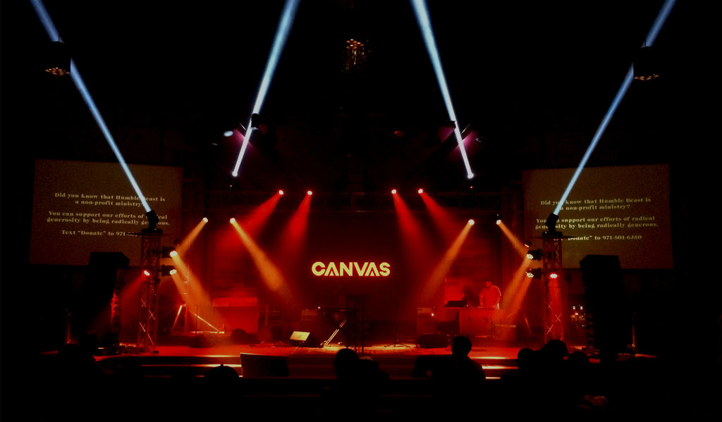 Canvas Conference 2017 wide view of stage