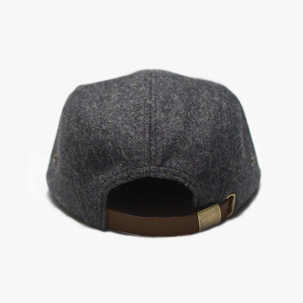 Wool + Suede 5 panel hat