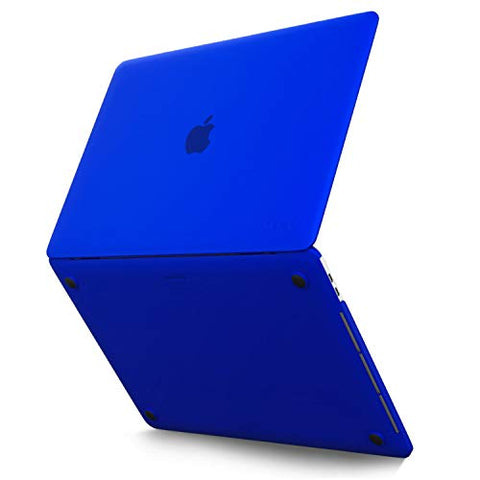 Kuzy MacBook Pro 15 inch Case 2019 2018 2017 2016 Release A1990 A1707, Hard Plastic Shell Cover for MacBook Pro 15 case with Touch Bar Soft Touch, Blue