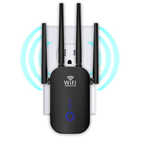 WiFi Extender 1200Mbps, WiFi Booster Dual Band 2.4 & 5GHz, WiFi Range Extenders Signal Booster for Home, 3 Working Modes WiFi Repeater and Signal Amplifier with Ethernet Port