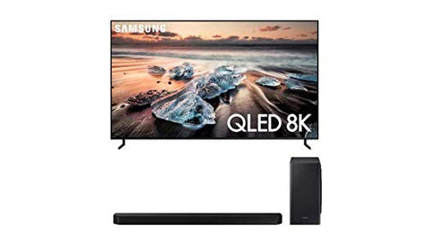 "Samsung QN55Q900RB 55"" 8K Ultra High Definition Smart QLED TV with a Samsung HW-Q900T 7.1.2 Channel Soundbar with Dolby Atmos and DTS:X (2019)"
