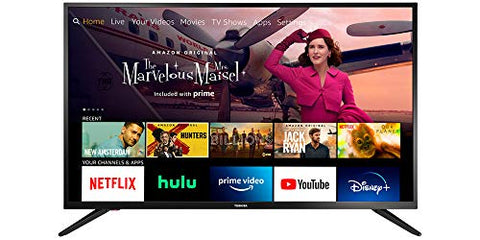 All-New Toshiba 43LF421U21 43-inch Smart HD 1080p TV - Fire TV Edition, Released 2020