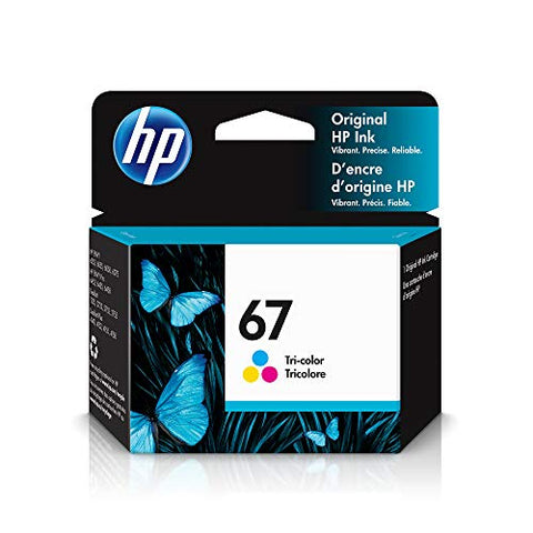 HP 67 | Ink Cartridge | Tri-color | 3YM55AN