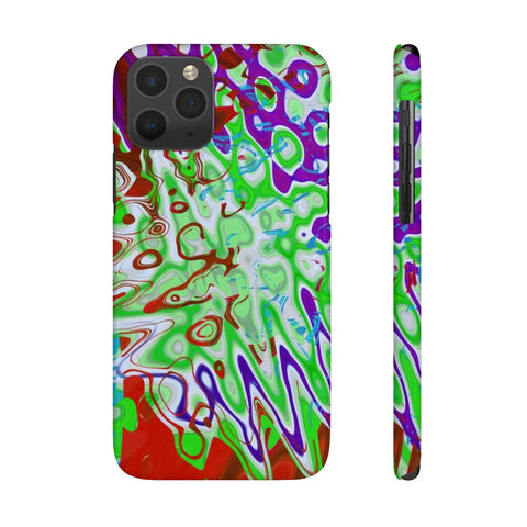 the color blast  Slim Phone Cases