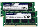 Timetec Hynix IC 8GB KIT(2x4GB) Compatible for Apple DDR3 1333MHz PC3-10600 for MacBook Pro (Early/Late 2011 13/15/17 inch), iMac (Mid 2010, Mid/Late 2011 21.5/27 inch), Mac Mini(Mid 2011) RAM Upgrade