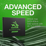 Seagate Barracuda 120 SSD 250GB Internal Solid State Drive – 2.5 Inch SATA 6GB/S for Computer Desktop PC Laptop (ZA250CM10003)