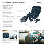 Uniden DFR9 Super Long Range Laser and Radar Detection, Built-In GPS for Red Light Cameras and Speed Camera Alerts, Easy to Read Full Color OLED Display