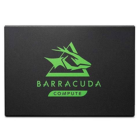 Seagate Barracuda 120 SSD 500GB Internal Solid State Drive – 2.5 Inch SATA 6GB/S for Computer Desktop PC Laptop (ZA500CM10003)