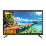 "onn. 24"" Class 720p High Definition LED TV (Renewed)"