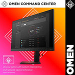 Omen by HP Obelisk Gaming Desktop Computer, Intel Core i5-9400F Processor, NVIDIA GeForce GTX 1660 6 GB, HyperX 8 GB RAM, 512 GB SSD, VR Ready, Windows 10 Home (875-0120, Black)