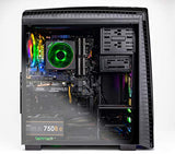 SkyTech Shadow II Gaming Computer PC Desktop – Ryzen 7 2700 8-Core 3.2 GHz, NVIDIA GeForce RTX 2060 6G, 500G SSD, 16GB DDR4, RGB, AC WiFi, Windows 10 Home 64-bit