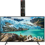 "Samsung Smart TV 58"" inch 4K UHD Flat Screen TV (UN58RU7100FXZA) with HDR, Google, Apple & Alexa Compatible + Remote with Netflix & Prime Buttons for Samsung TV"