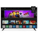 VIZIO D-Series 40-Inch 1080p Full HD LED Smart TV (D40F-G9) with Built-in HDMI, USB, SmartCast, Voice Control Bundle with Circuit City 6-Feet Ultra High Definition 4K HDMI Cable and Accessories