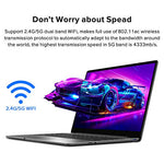 CHUWI GemiBook 13 inch Windows 10 Intel Celeron J4115 12GB RAM 256GB SSD Laptop,Quad Core,Thin and Lightweight Notebook with Backlit Keyboard Type-C 2.4G/5G WiFi,BT 5.1 up to 1TB SSD