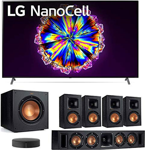 "LG 65NANO90U 65"" Real NanoCell Cinema HDR Display Smart Ultra HD 4K TV with a Klipsch WISA 5.1 System Bundle"