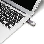PNY 64GB Turbo Attaché 3 USB 3.0 Flash Drive - (P-FD64GTBOP-GE)
