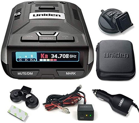 Uniden R3DSP R3 Dsp Extremely Long-Range Radar Detector/Laser Detector & RDA-HDWKT Radar Detector Smart Hardwire Kit
