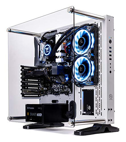 Thermaltake LCGS Arctic III AIO Liquid Cooled CPU Gaming PC (AMD RYZEN 5 3600 6-core, TOUGHRAM DDR4 3200Mhz 16GB RGB Memory, RTX 2060 Super 8GB, 1TB SATA III, WiFi, Win 10 Home) P3WT-B450-STL-LCS