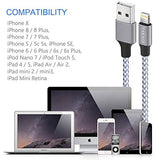 TAKAGI iPhone Charger, Lightning Cable 3Pack 6FT Nylon Braided Fast Charging High Speed Data Sync Transfer Cord Phone Power Connector Compatible with iPhone 11 Pro Max XS XR X 8 7 Plus 6S 6 5S iPad