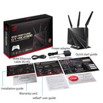ASUS ROG (GT-AC2900) Dual-Band Wireless Gigabit Wi-Fi Gaming Router - GeForce Now Optimization with Triple-Level Game Acceleration, 4X LAN, 1X USB 3.0, 1X USB 2.0 Compatible with Aimesh