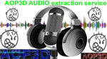 AOP3D AUDIO EXTRACTION SERVICE