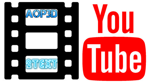 AOP3D ( YOUTUBE 2 TEXT )