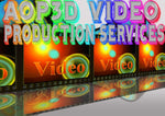 AOP3D digital VIDEO production SERVICES - AOP3D.COM