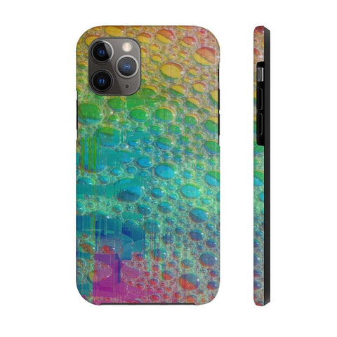 the bubble color Tough Phone Cases