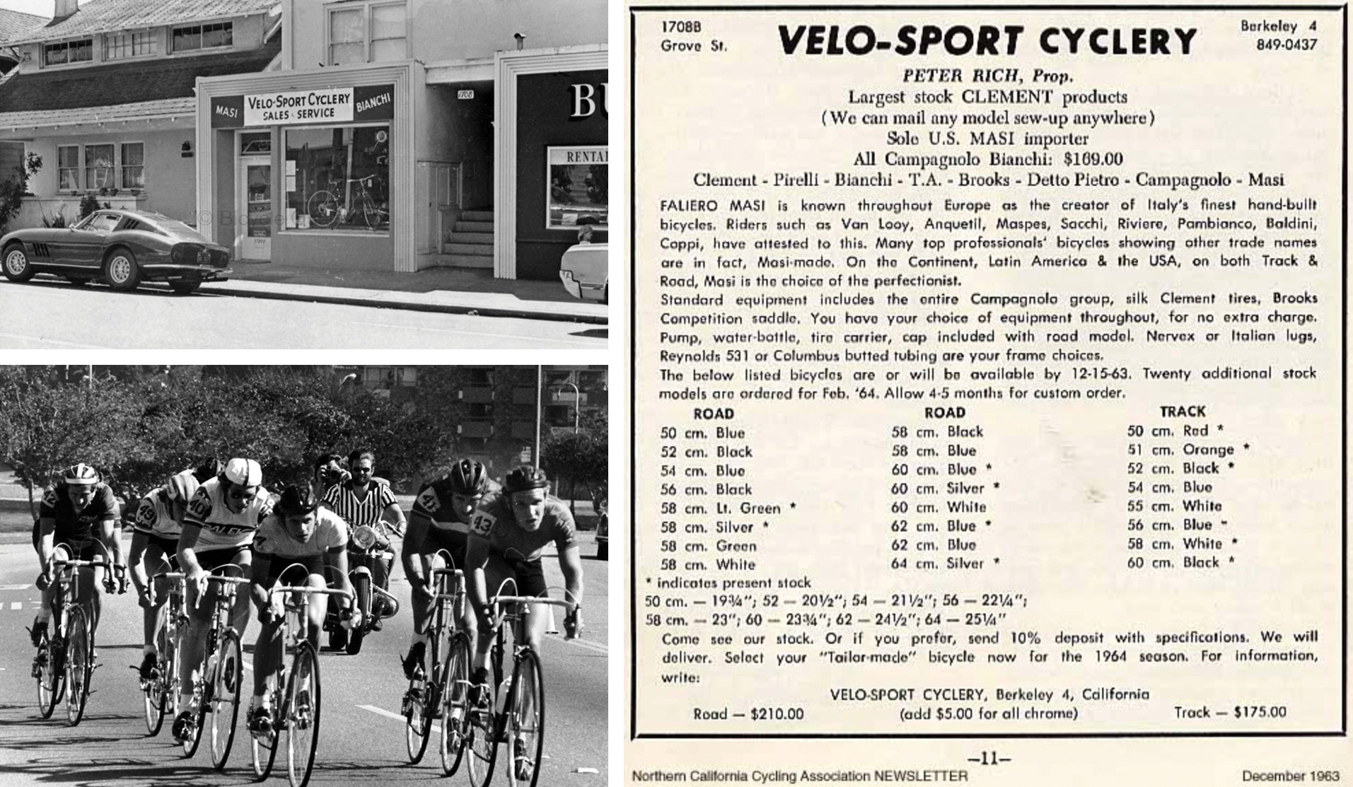 Velo-Sport Cyclery newsletter
