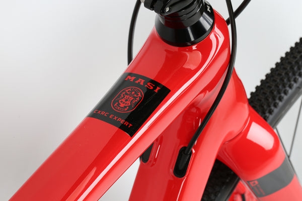 2019 Masi CXRc Expert Silver Electric Red Detail 2.