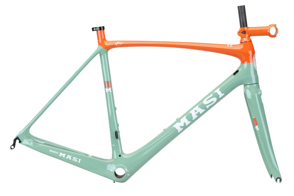 2019 Masi Evo Frameset Limpet Shell Blue Orange.