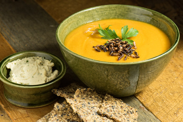 Split Pea and Butternut Squash Bisque
