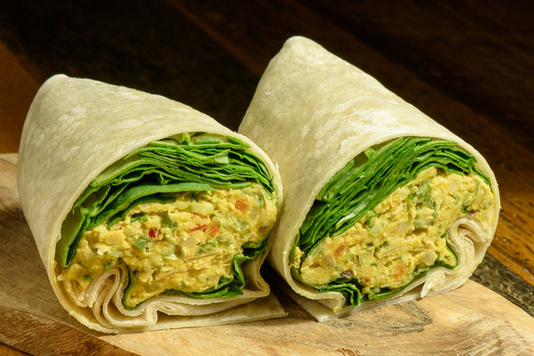 Curried Chickpea Wrap