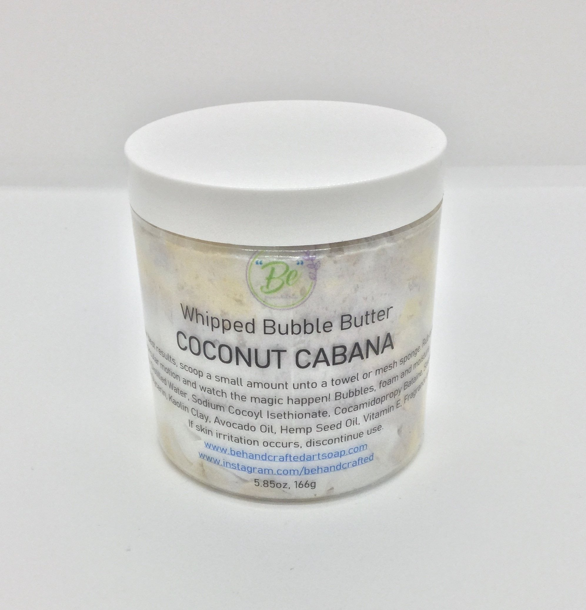 Whipped Bubble Butter - Coconut Cabana