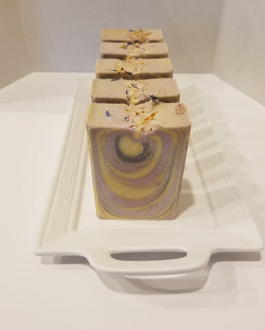 Lavender & Lemongrass Essential Oil Soap