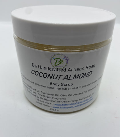 """Be"" Body Scrub - Coconut Almond"