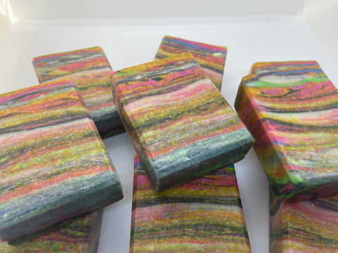 Ribbon Candy Soap
