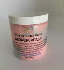 Whipped Bubble Butter - Georgia Peach