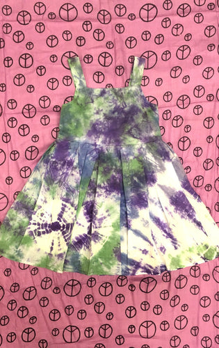 Kids Tye Dye Dress