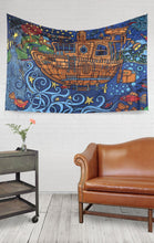 3D Tapestry - Tugboat