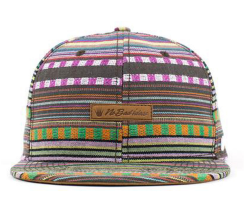 No Bad Ideas Headwear - Striped Cap