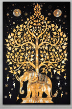 Elephant Tree of Life Tapestries