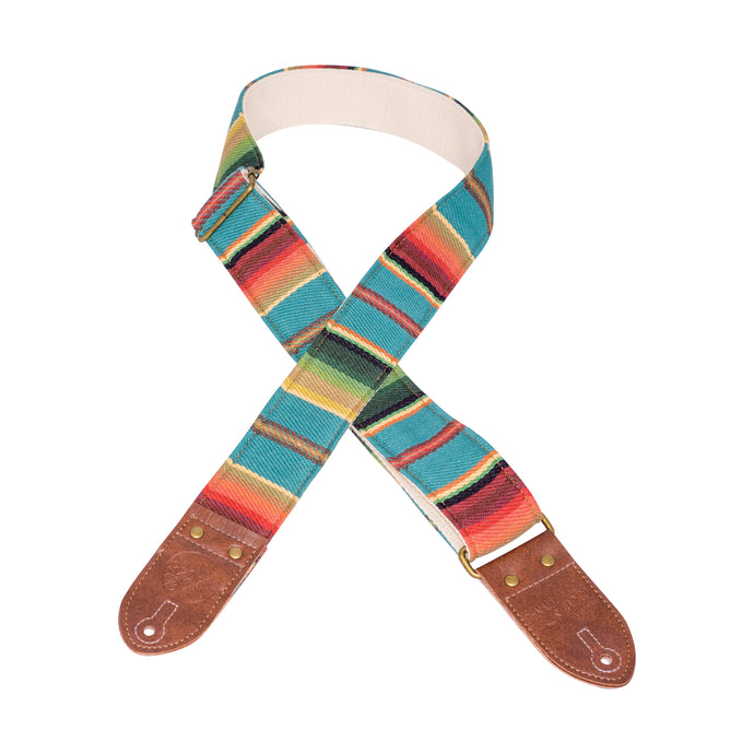 Turquoise Saddle Blanket Guitar Strap