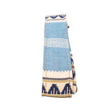 Blue & Tan Saddle Blanket Multi Purpose Skinny Strap