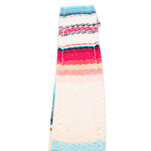 Cream & Blue Saddle Blanket Multi Purpose Skinny Strap